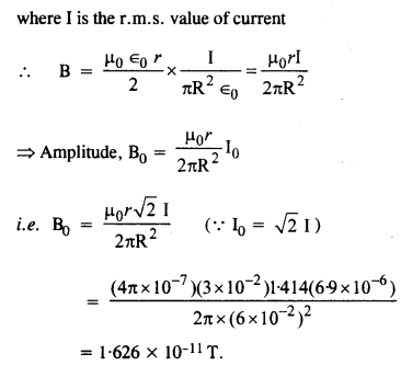 NCERT Solutions for Class 12 physics Chapter 8.5