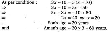 NCERT Solutions for Class 8 Maths Chapter 2 Linear Equations In One Variable 52