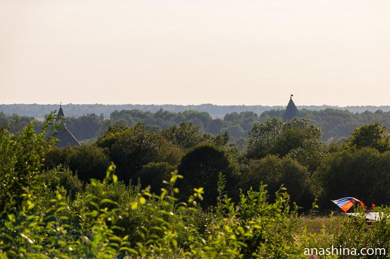 Вид в сторону Староладожской крепости