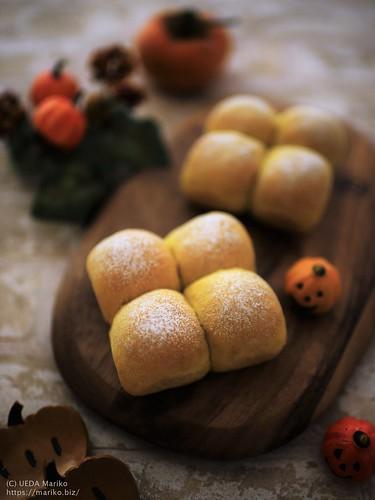 柿酵母のかぼちゃパン IMG_6143
