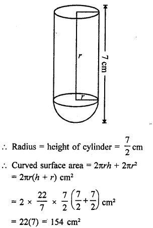 Class 9 Maths Chapter 21 Surface Areas and Volume of a Sphere RD Sharma Solutions