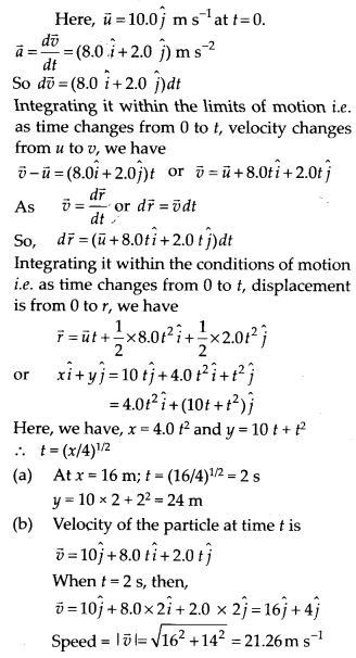 NCERT Solutions for Class 11 Physics Chapter 4 Motion of plane 25