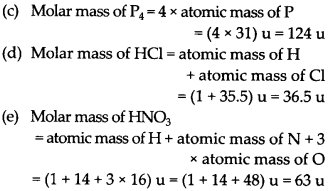 NCERT Solutions for Class 9 Science Chapter 3 Atoms and Molecules 19