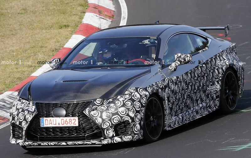 lexus-rc-f-gt-spy-photo