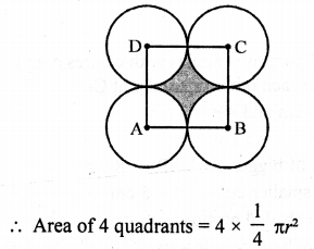RD Sharma Class 10 Solutions Chapter 13 Areas Related to Circles Ex 13.4 - 33a