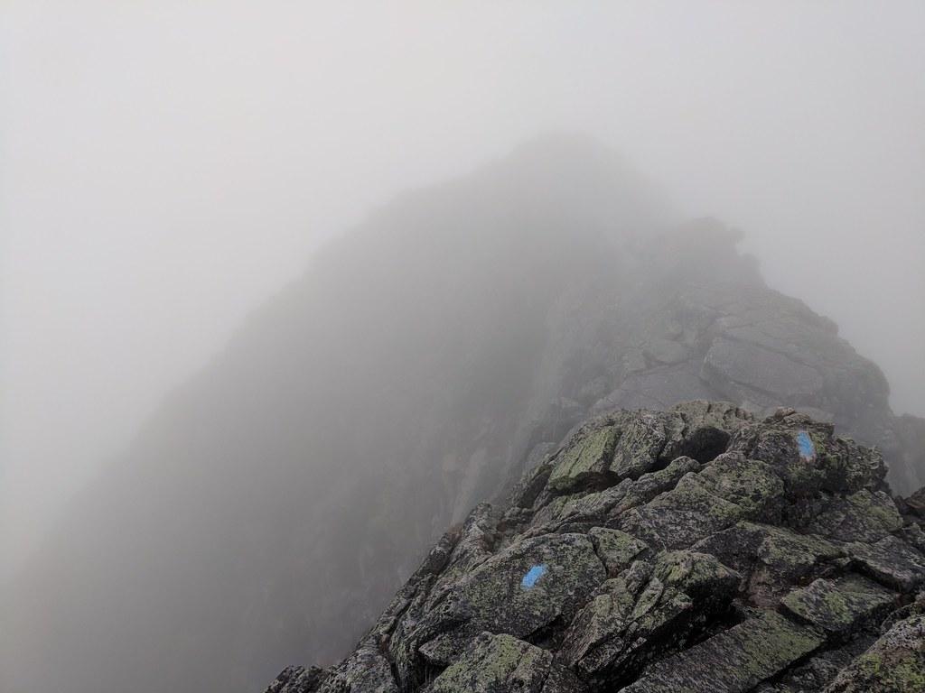 Mount Katahdin Knife Ridge Route