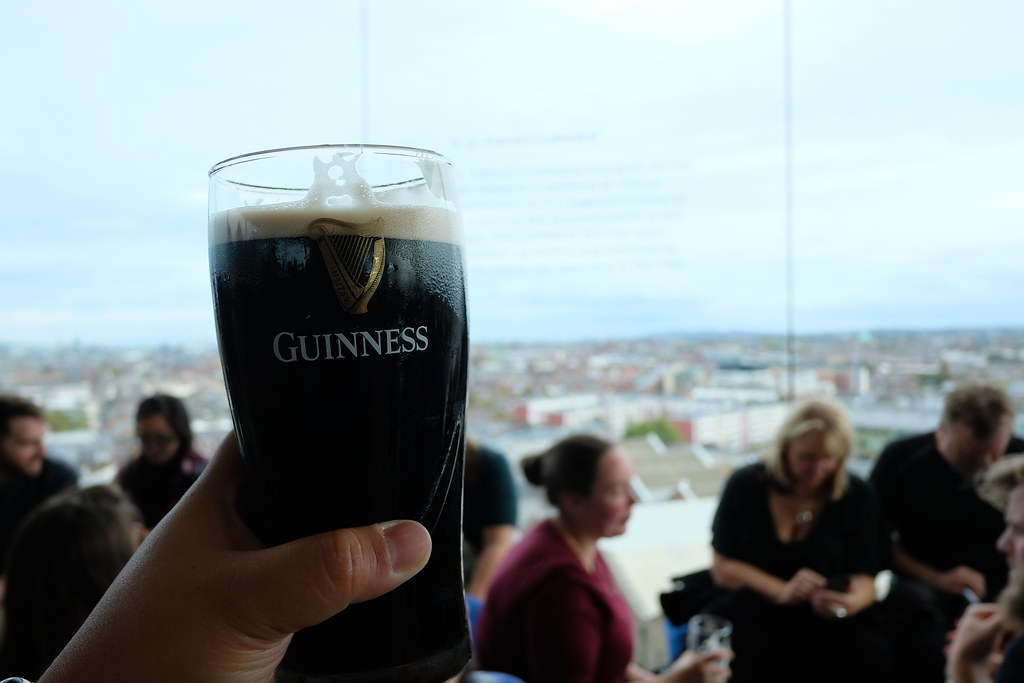 Guinness Storehouse | Ireland and Scotland Itinerary