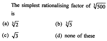 RD Sharma Mathematics Class 9 Solutions Chapter 3 Rationalisation