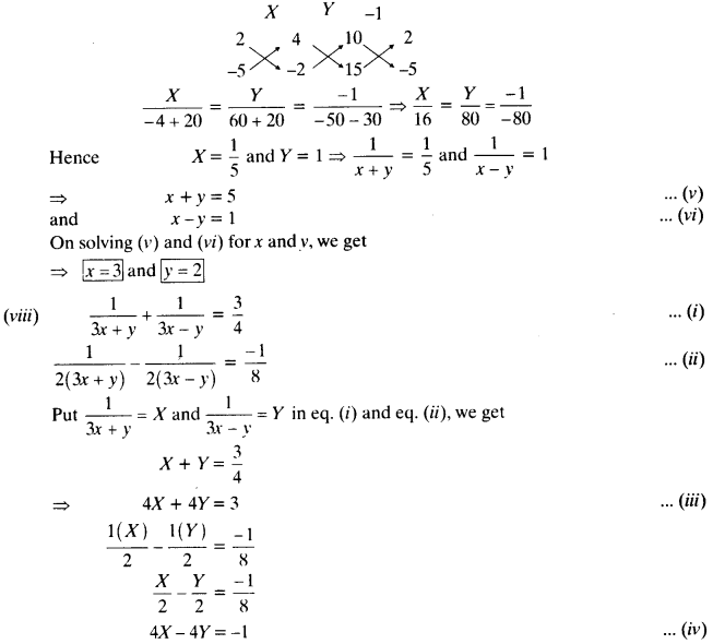 NCERT Solutions for Class 10 Maths Chapter 3 Pair of Linear Equations in Two Variables 81