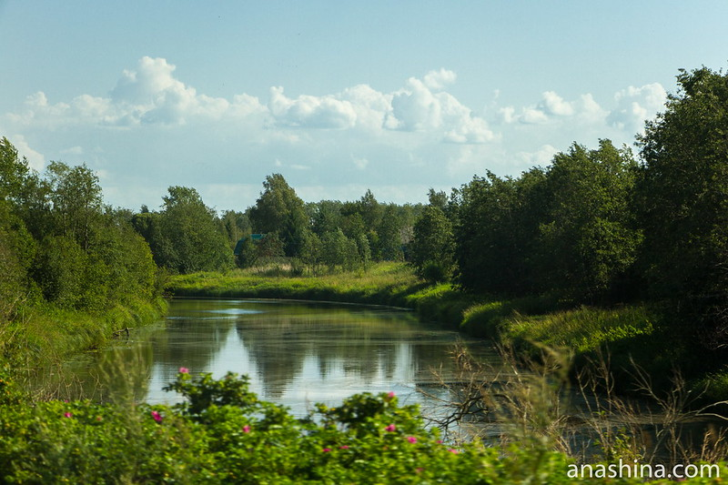Река Мегрега, Карелия