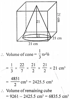 RD Sharma Class 10 Solutions Chapter 14 Surface Areas and Volumes Ex 14.2 31