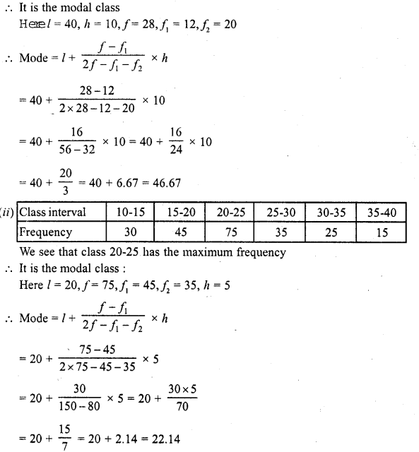 RD Sharma Class 10 Solutions Chapter 15 Statistics Ex 15.5 3b