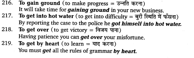 UP Board Solutions for Class 11 English Vocabulary Chapter 9 Idioms and Phrases 30