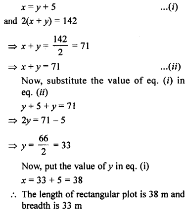 Selina Concise Mathematics class 7 ICSE Solutions - Simple Linear Equations (Including Word Problems) -d17.