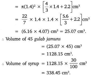 NCERT Solutions for Class 10 Maths Chapter 13 Surface Areas and Volumes 16
