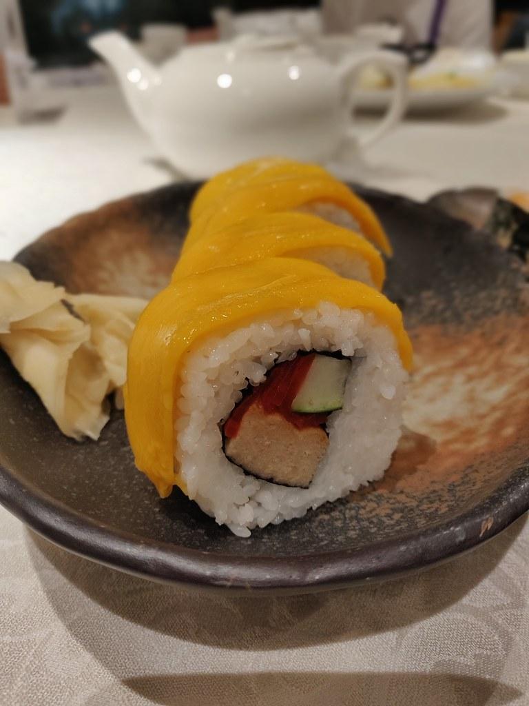 Vegetarian Mango Sushi Gaia Veggie Shop Causeway Bay Chinese Vegetarian Restaurant Hong Kong