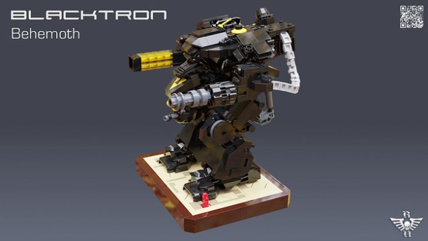 Blacktron design takes a giant step forward