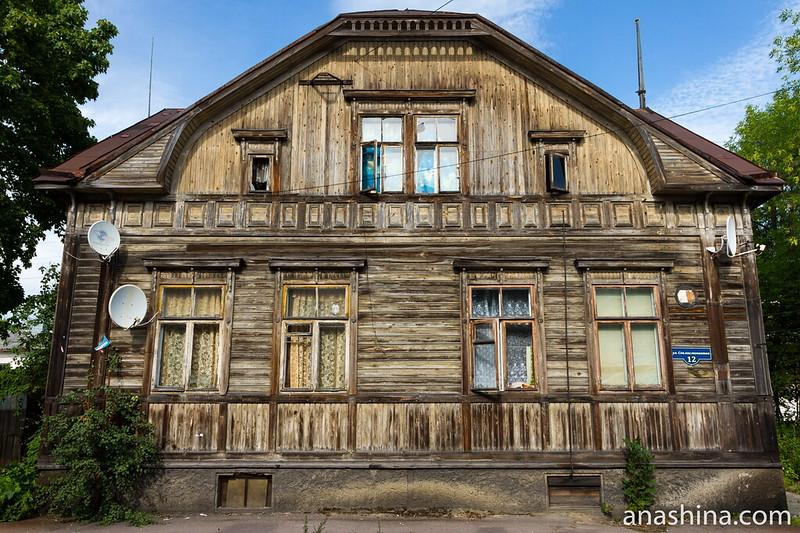Старинный дом в Сортавале