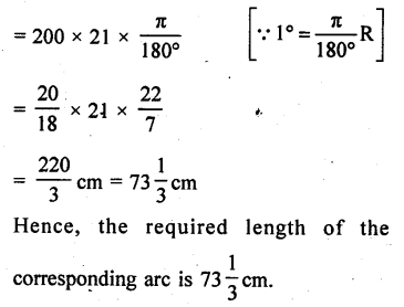RD Sharma Class 10 Solutions Chapter 13 Areas Related to Circles Ex 13.2 - 18a