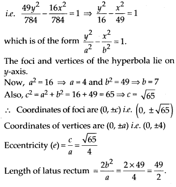 NCERT Solutions for Class 11 Maths Chapter 11 Conic Sections 41