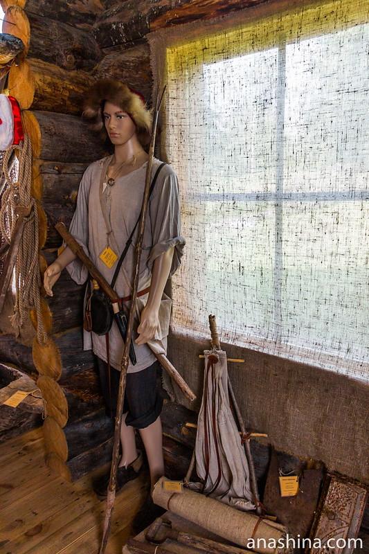 Рыбак, Музей Ладоги, Сортавала