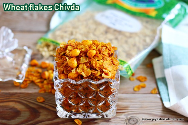 Wheat flakes Chivda