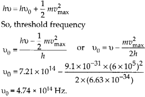 NCERT Solutions for Class 12 Physics Chapter 11 Dual Nature of Radiation and Matter 16