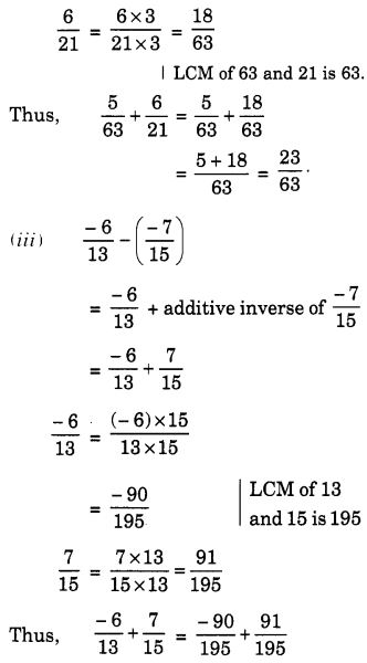 NCERT Solutions for Class 7 Maths Chapter 9 Rational Numbers 45