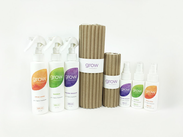 100% Plant Based Air and Fabric Fresheners