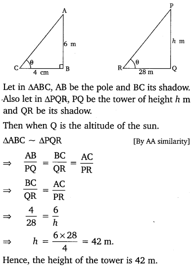 NCERT Solutions for Class 10 Maths Chapter 6 Triangles 52