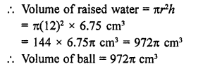 RD Sharma Class 9 Solutions Chapter 21 Surface Areas and Volume of a Sphere Ex 21.2 27