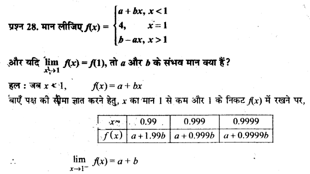 UP Board Solutions for Class 11 Maths Chapter 13 Limits and Derivatives 13.1 28