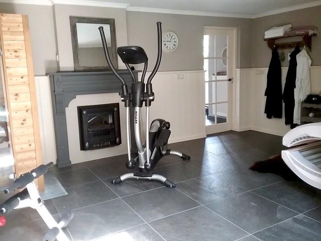 Fitnessruimte thuis