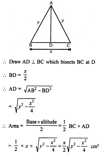RD Sharma Class 9 Book Chapter 17 Constructions