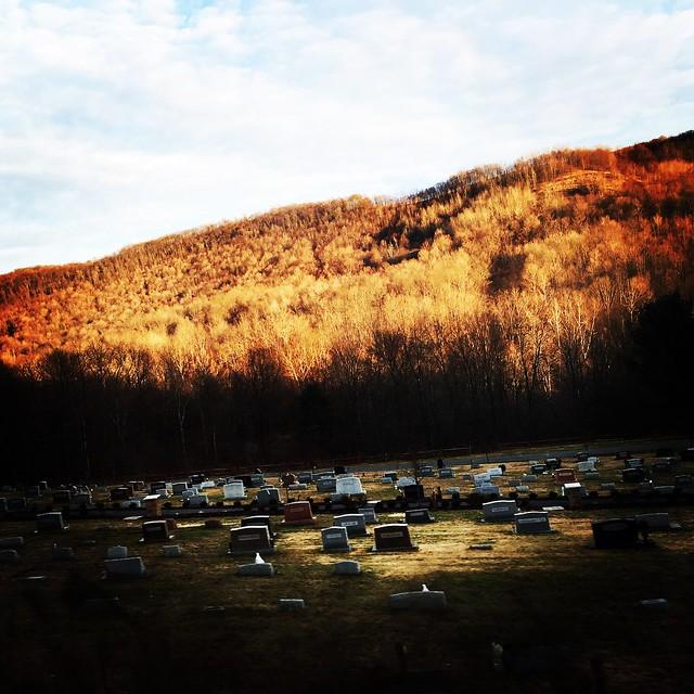 Cemetery in Force, Pennsylvania