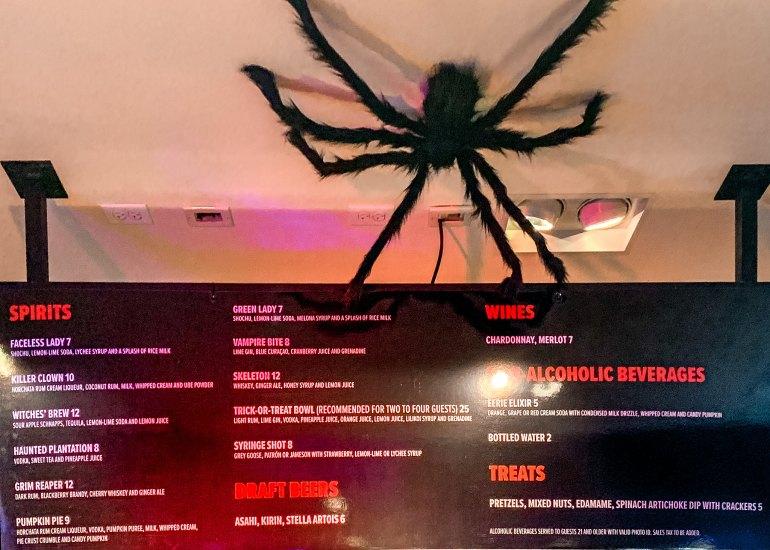 GHOST BAR HONOLULU - Halloween-Themed Pop-Up Bar at Ala Moana