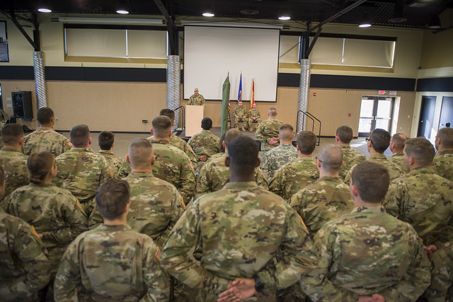 The 347th Regional Support Group formally welcomed more than 100 Soldiers into the brigade after an activation ceremony for the newly-formed 434th Support Maintenance Company.