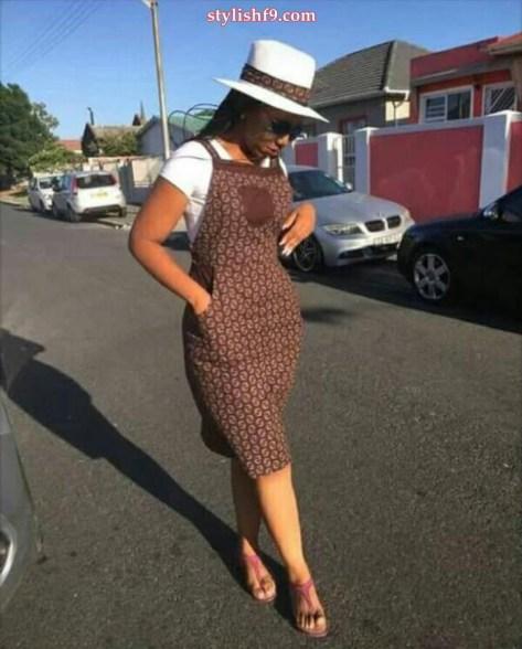 Shweshwe Traditional Stylish Dresses 2019 • Stylish F9