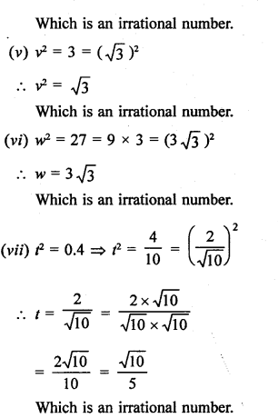 Number System Problems With Solutions PDF RD Sharma Class 9 Solutions