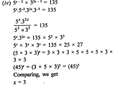 RD Sharma Class 9 Solutions Chapter 2 Exponents of Real Numbers Ex 2.2 - 10aa