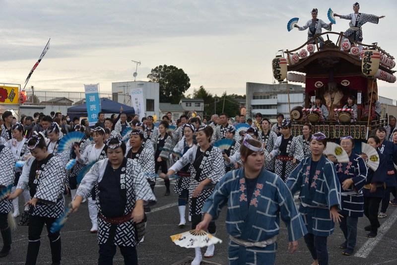 総踊り 佐倉の秋祭り 18