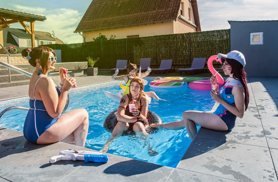 Overwatch Pool Party