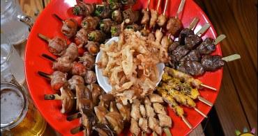 台中西區特色美食。安兵衛。免機票穿越到日本 浮誇串燒新登場 加碼燒肉火鍋買一送一太超值!