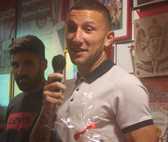 Celebración del V Aniversario de la Peña Sportinguista Sentimineto Rojiblanco- La regence