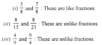 Selina Concise Maths class 7 ICSE Solutions - Fractions (Including Problems)-B1.