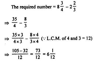 Selina Concise Maths class 7 ICSE Solutions - Fractions (Including Problems)-C9