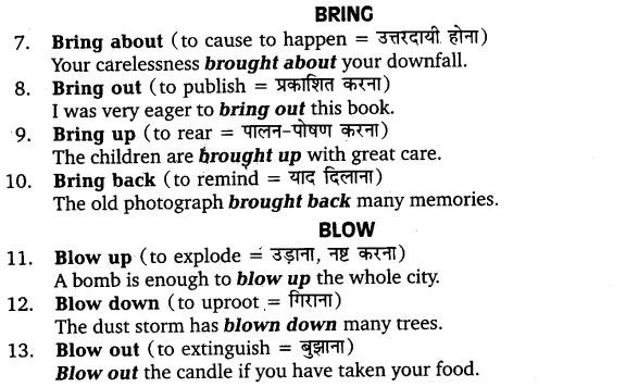 UP Board Solutions for Class 11 English Vocabulary Chapter 9 Idioms and Phrases 38