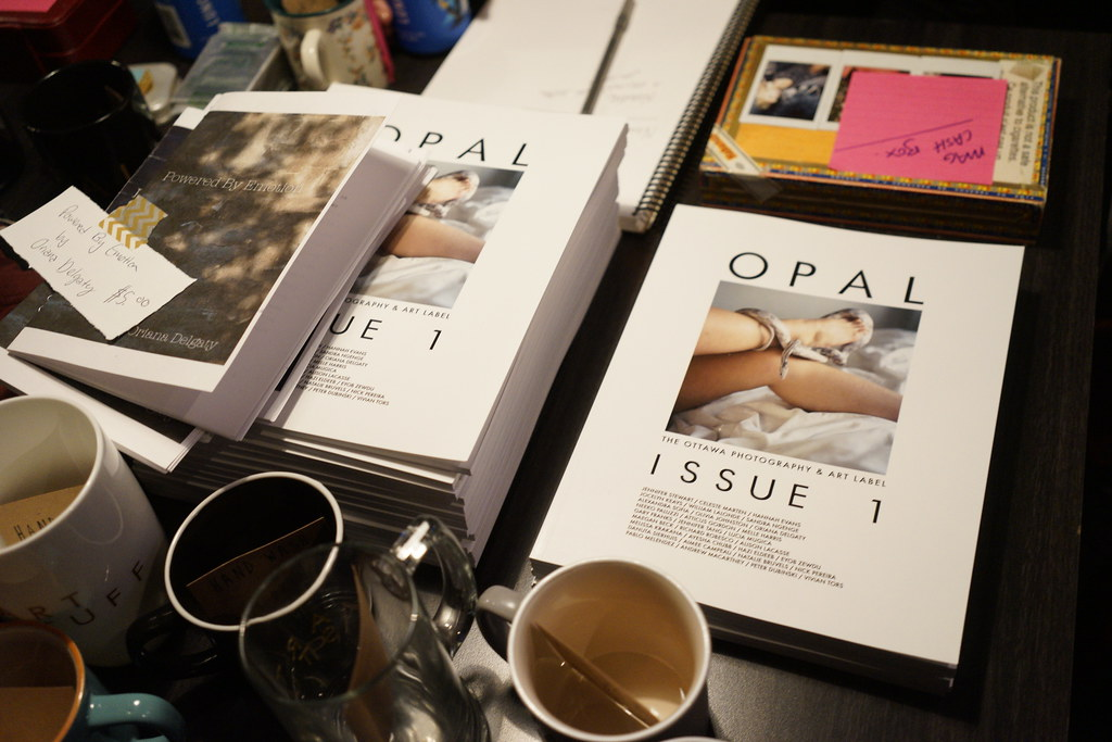 OPAL Magazine Issue #1 Launch Party