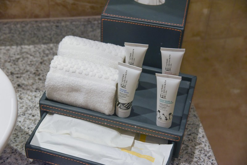toiletries from urban skincare co. at amari johor bahru
