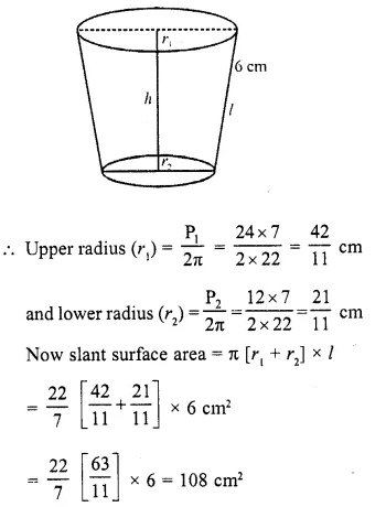 RD Sharma Class 10 Solutions Chapter 14 Surface Areas and Volumes  VSAQS 20